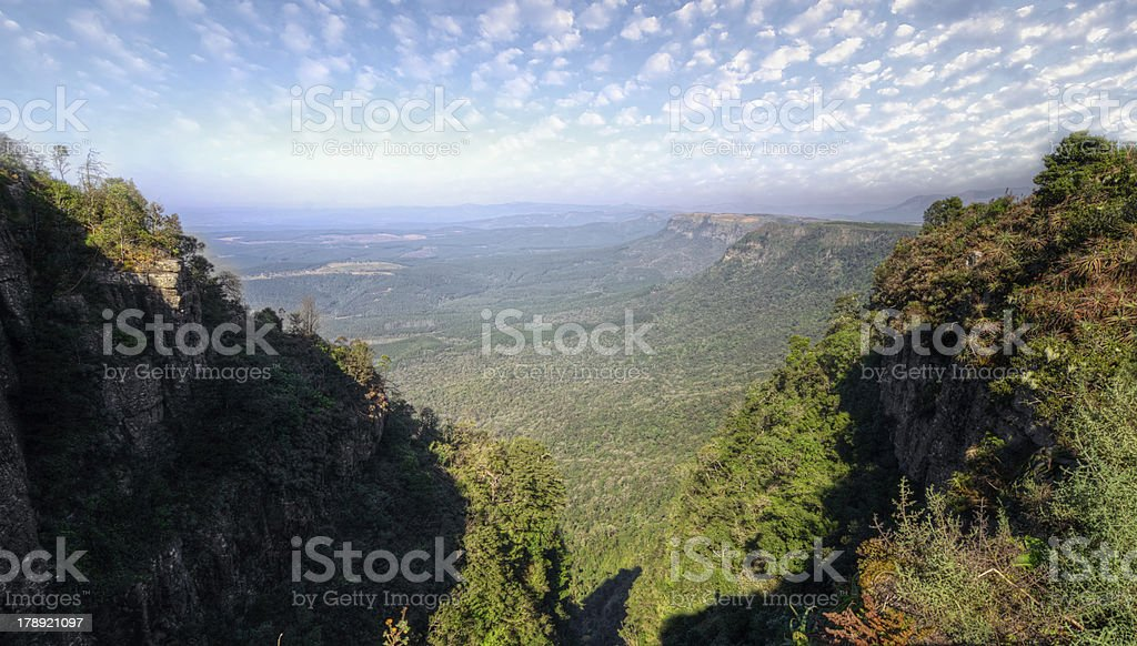 God's Window, Mpumalanga South Africa stock photo