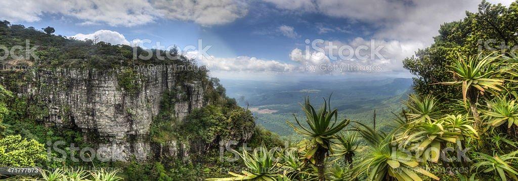 God's Window, Mpumalanga South Africa royalty-free stock photo