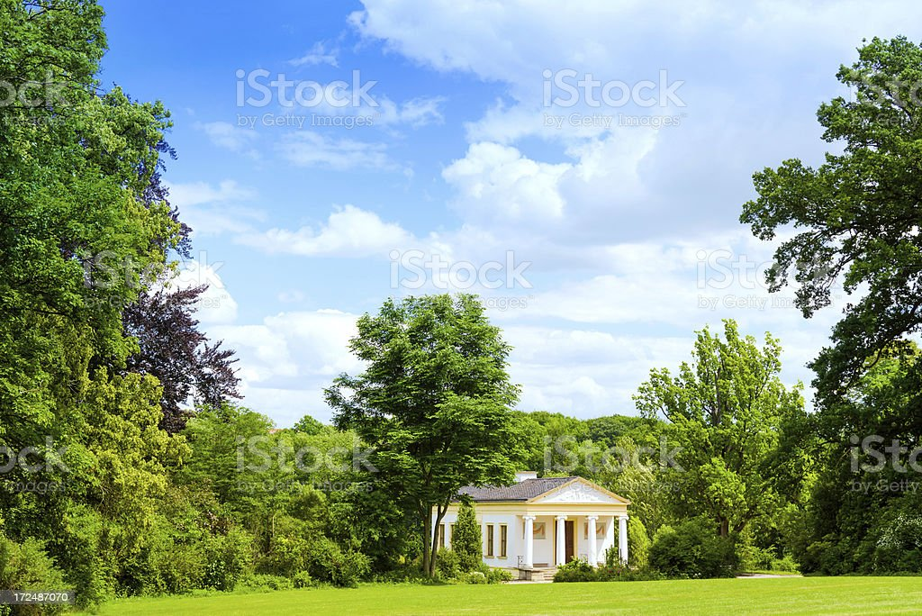 Goethe Park in Weimar, Germany royalty-free stock photo