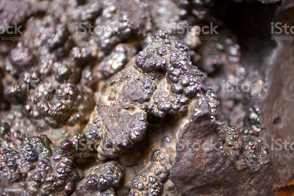 Goethita Rock stock photo