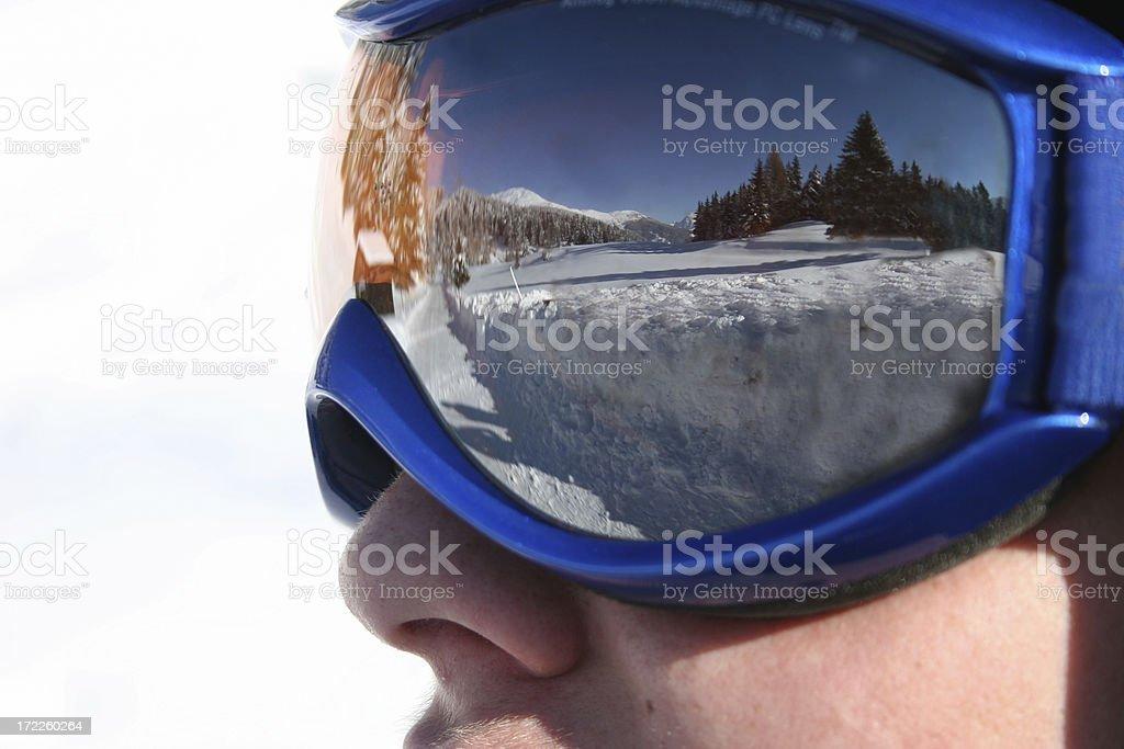 goggles stock photo