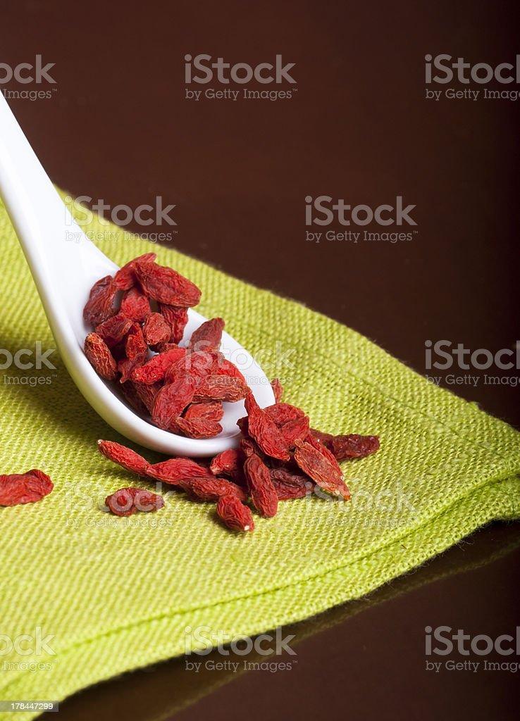 Gogi Wolfberries royalty-free stock photo