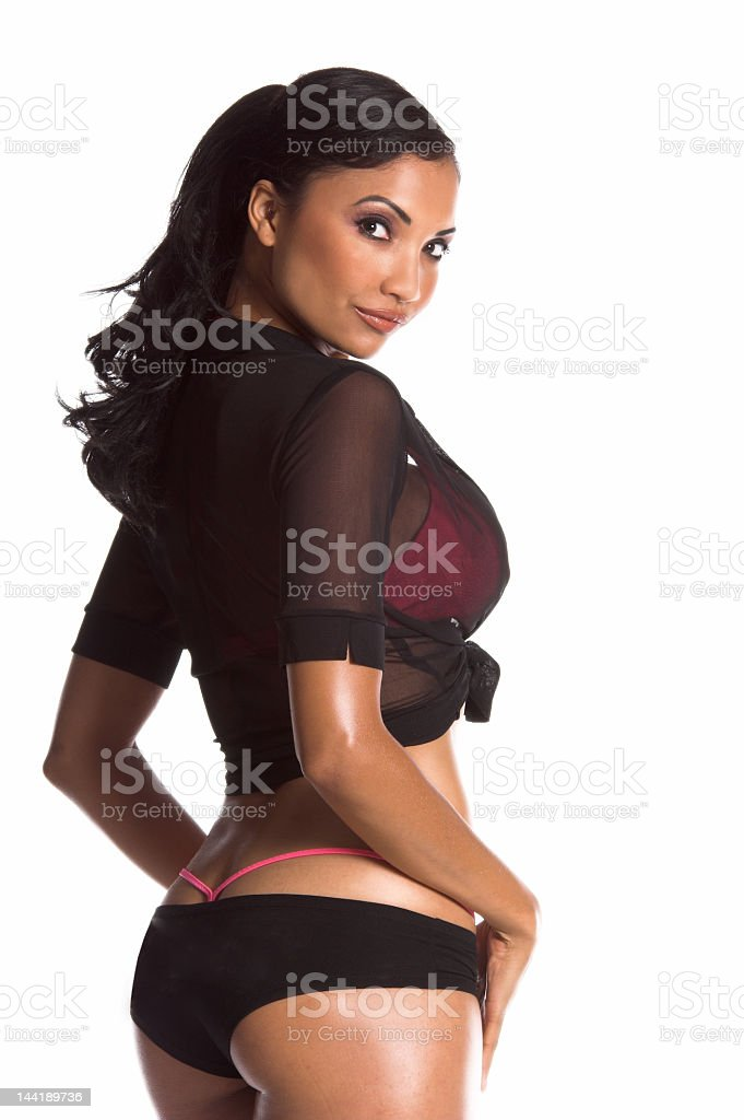 Go-Go Dancer royalty-free stock photo