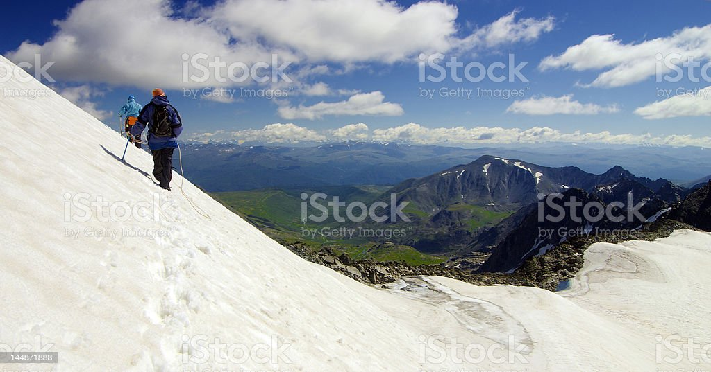 going above royalty-free stock photo