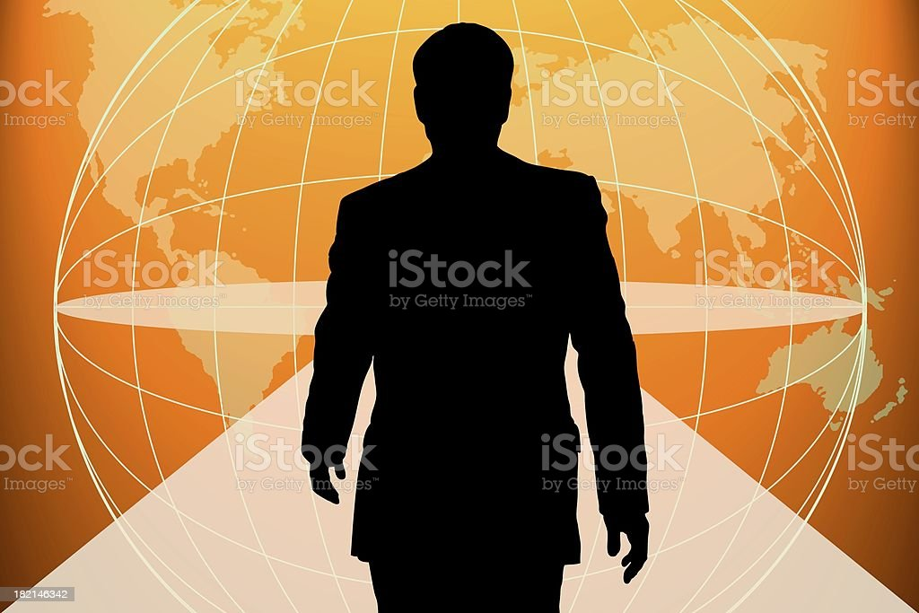 Going ahead. royalty-free stock photo