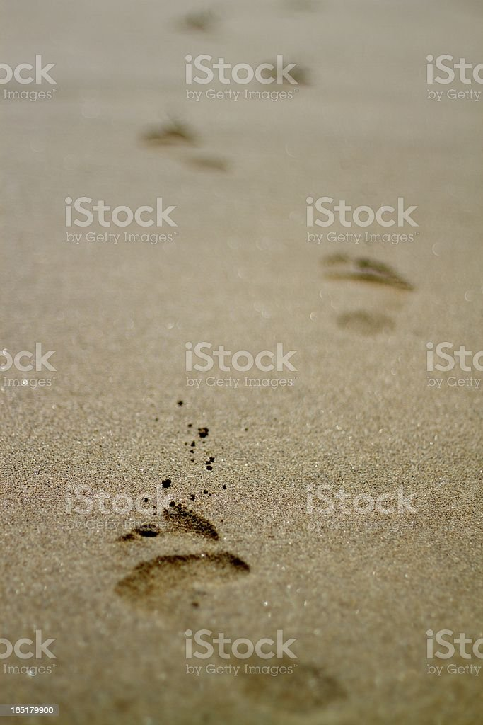 Going Away royalty-free stock photo