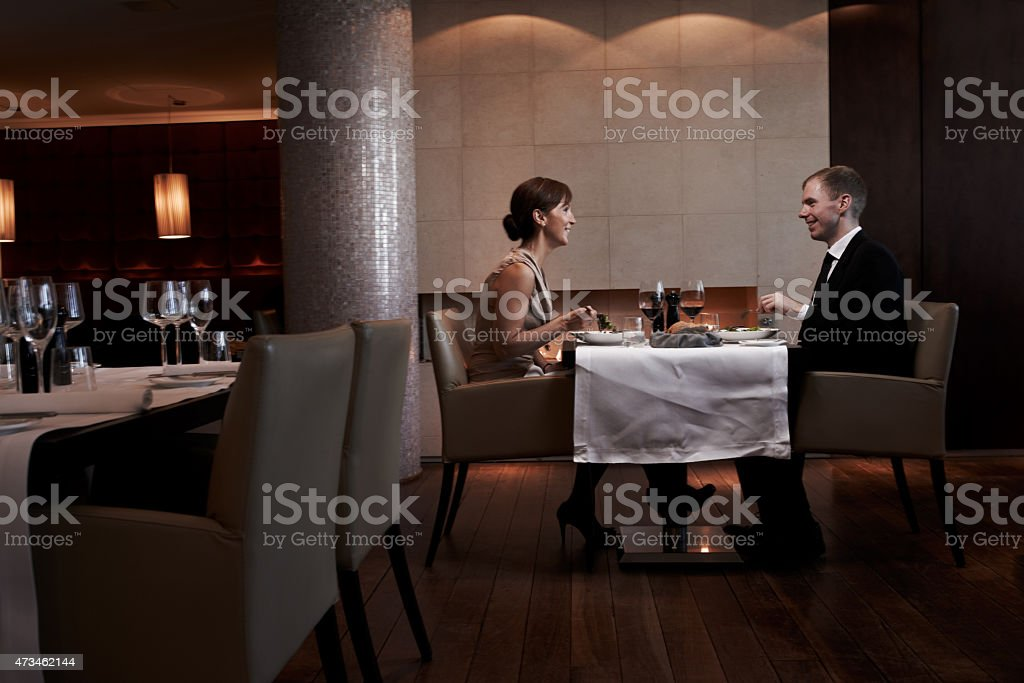 Going big on their anniversary stock photo
