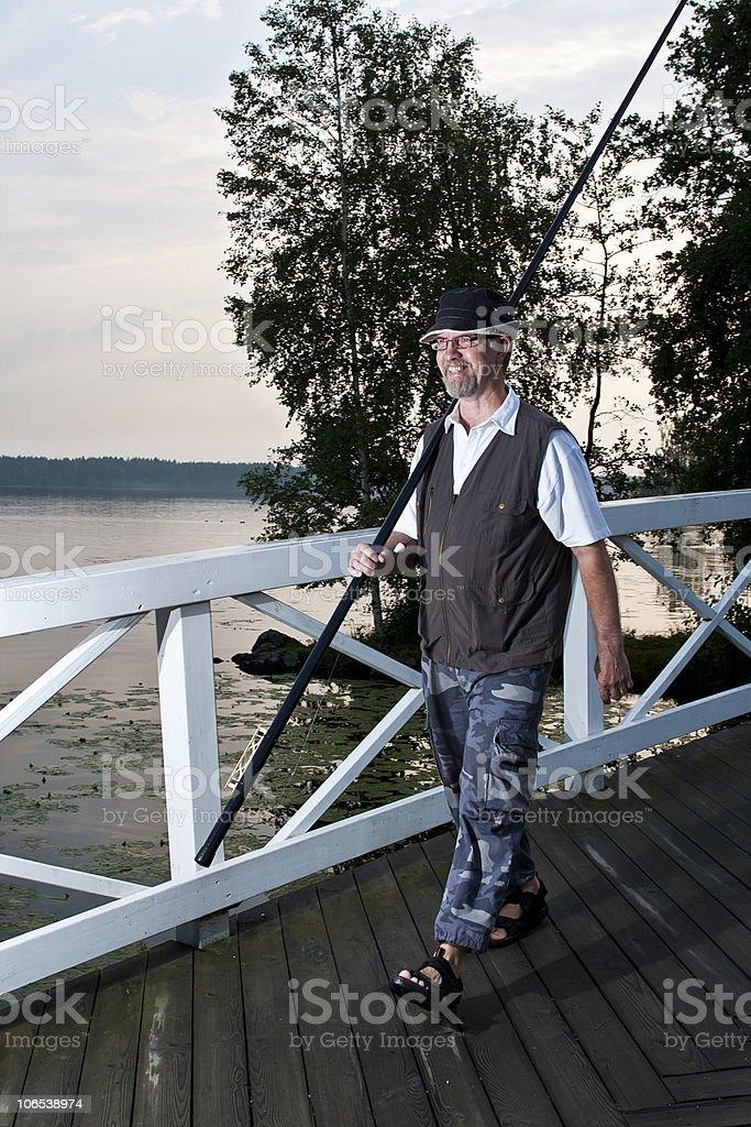 Going Fishing stock photo
