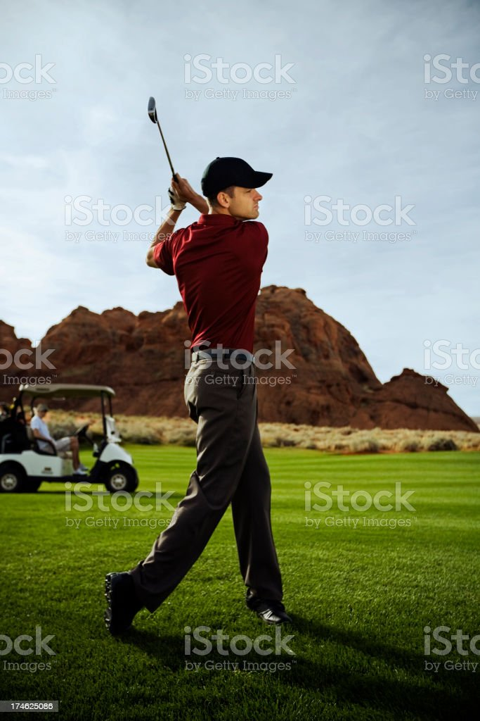 Going for Green royalty-free stock photo