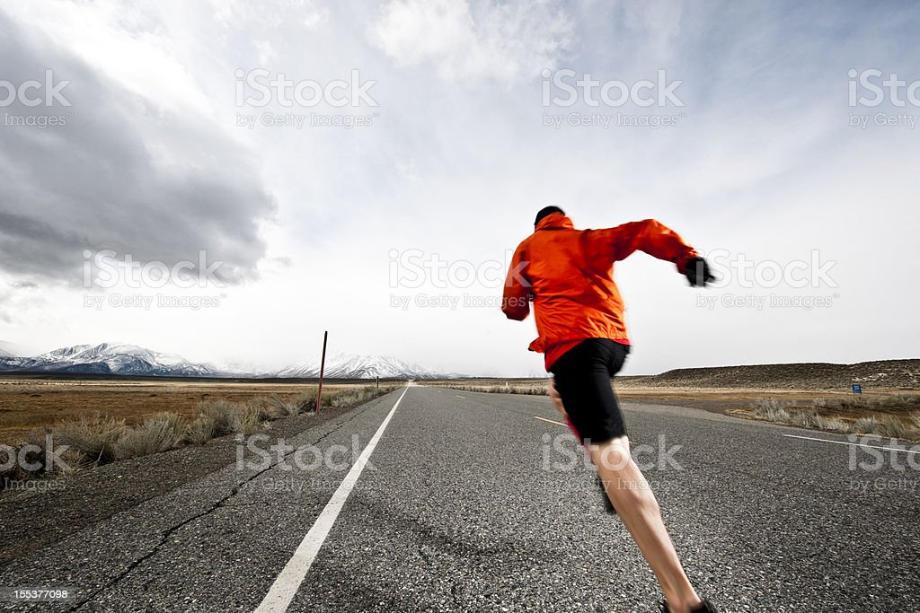 going for it royalty-free stock photo