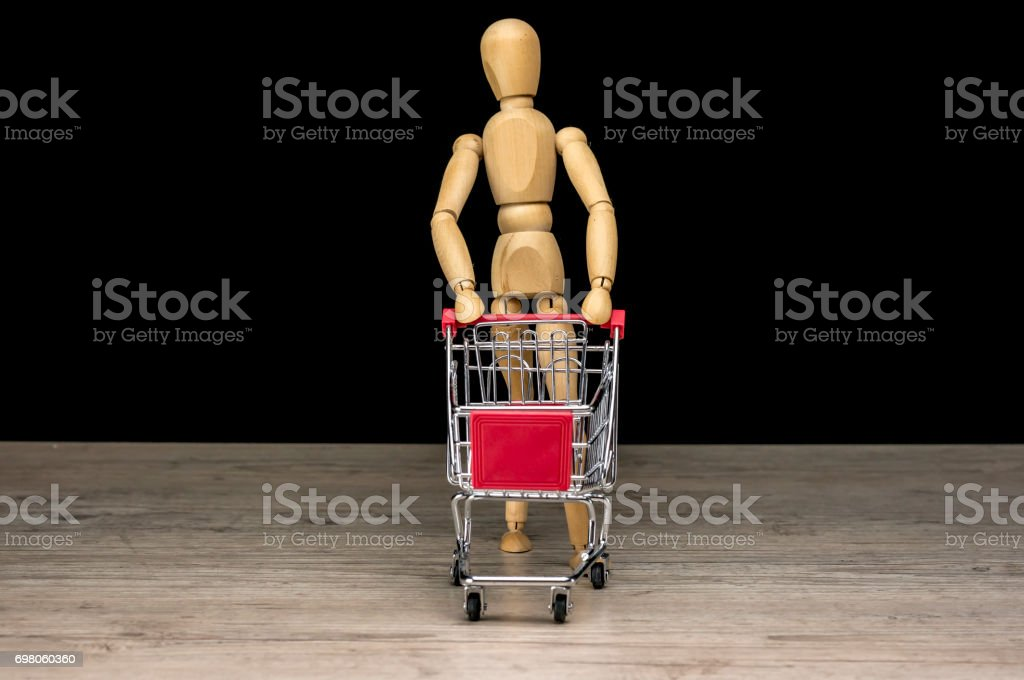 Going for shopping stock photo