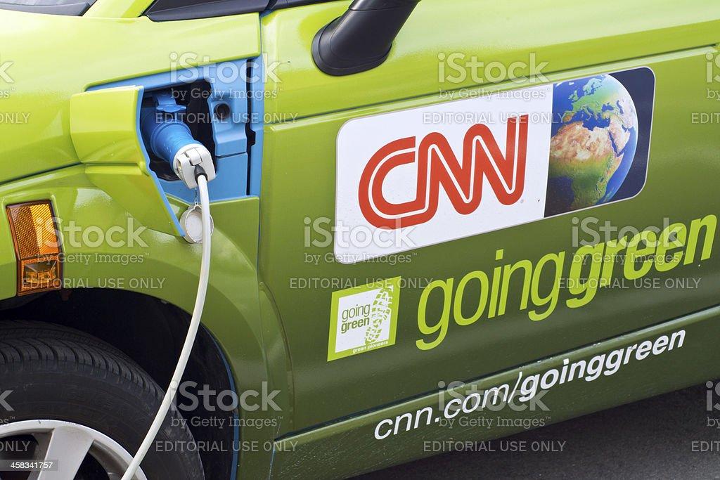 CNN going green stock photo