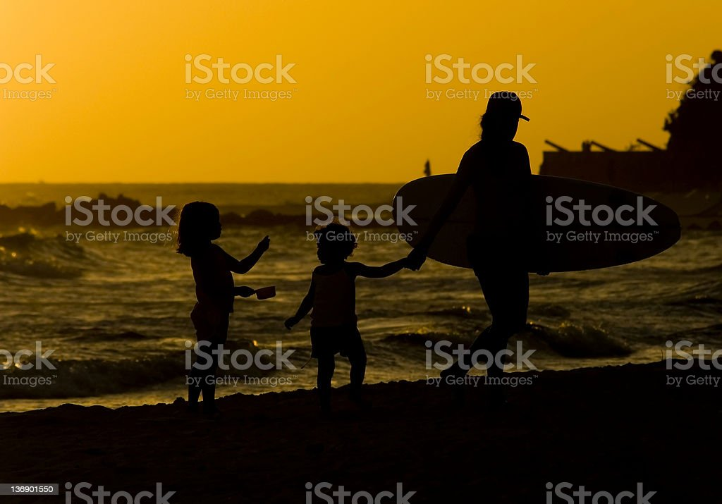Going Home royalty-free stock photo