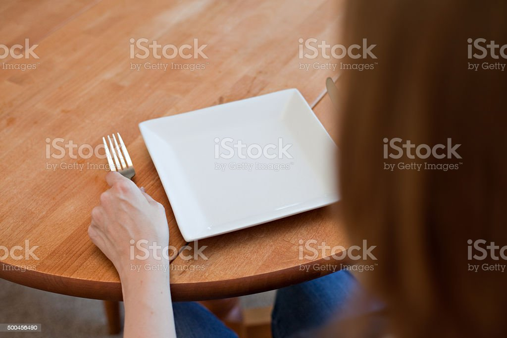 Going Hungry stock photo