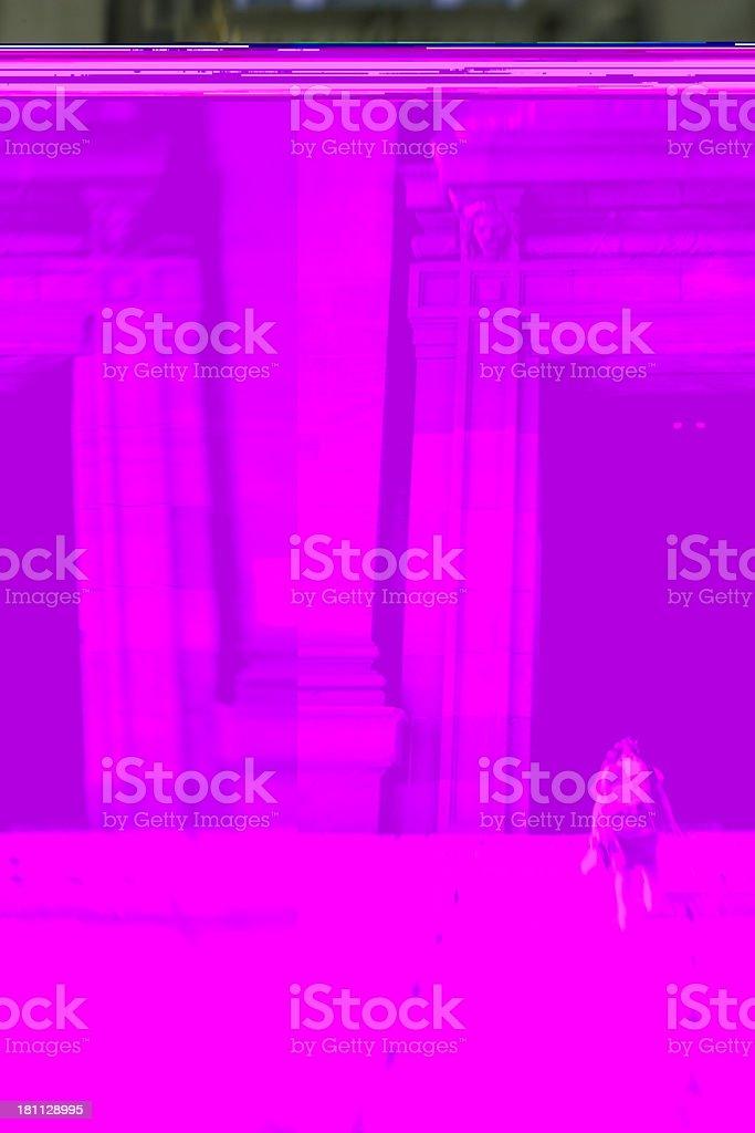 Going inside stock photo