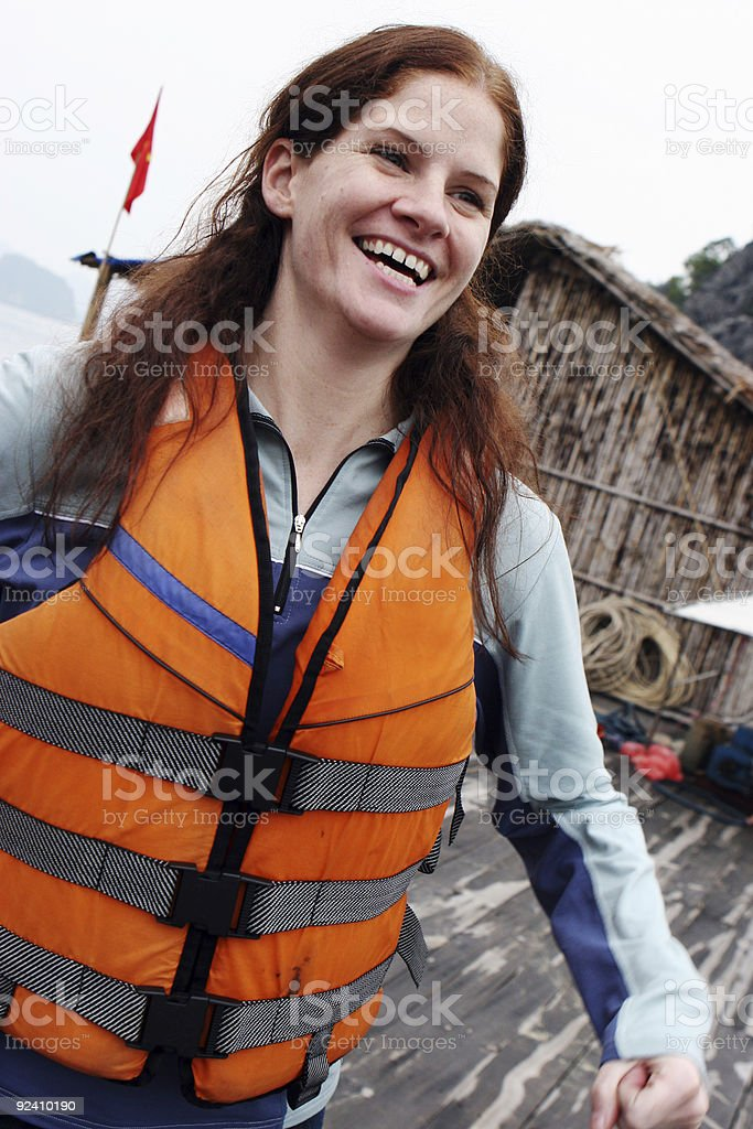 Going kayaking royalty-free stock photo