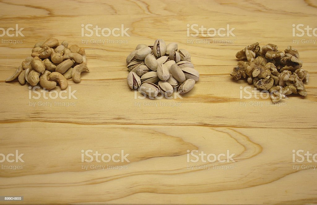 Going Nuts royalty-free stock photo