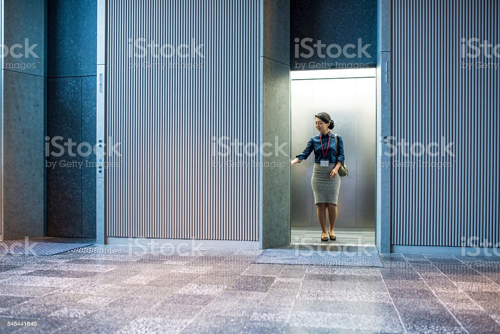 Going on a job interview stock photo