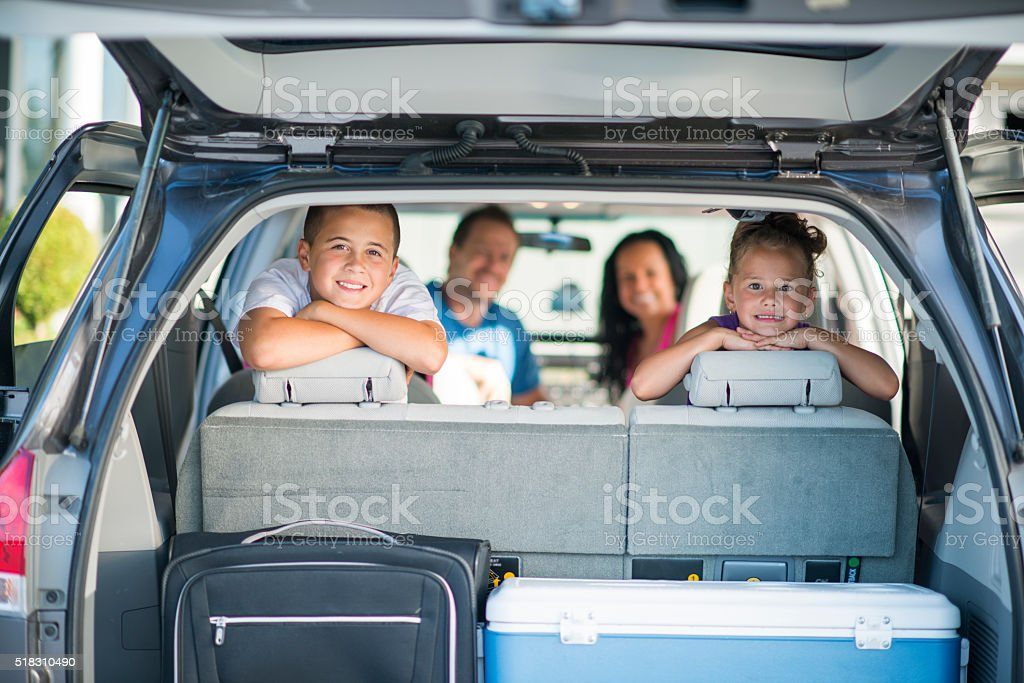 Going on a Road Trip Together stock photo
