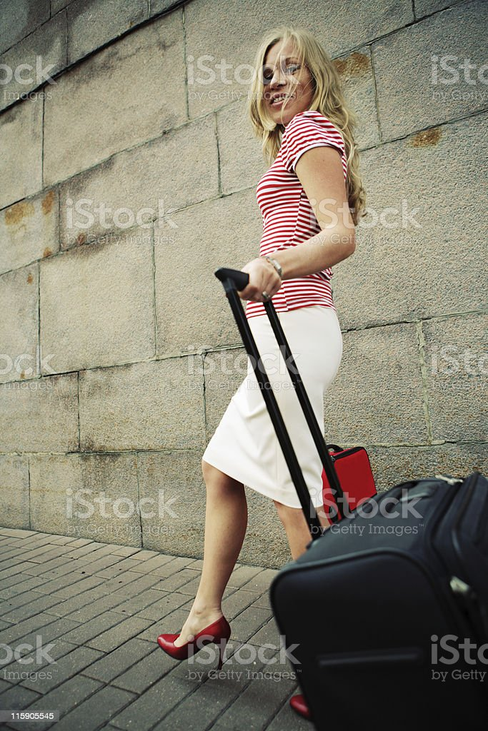 going on holidays royalty-free stock photo