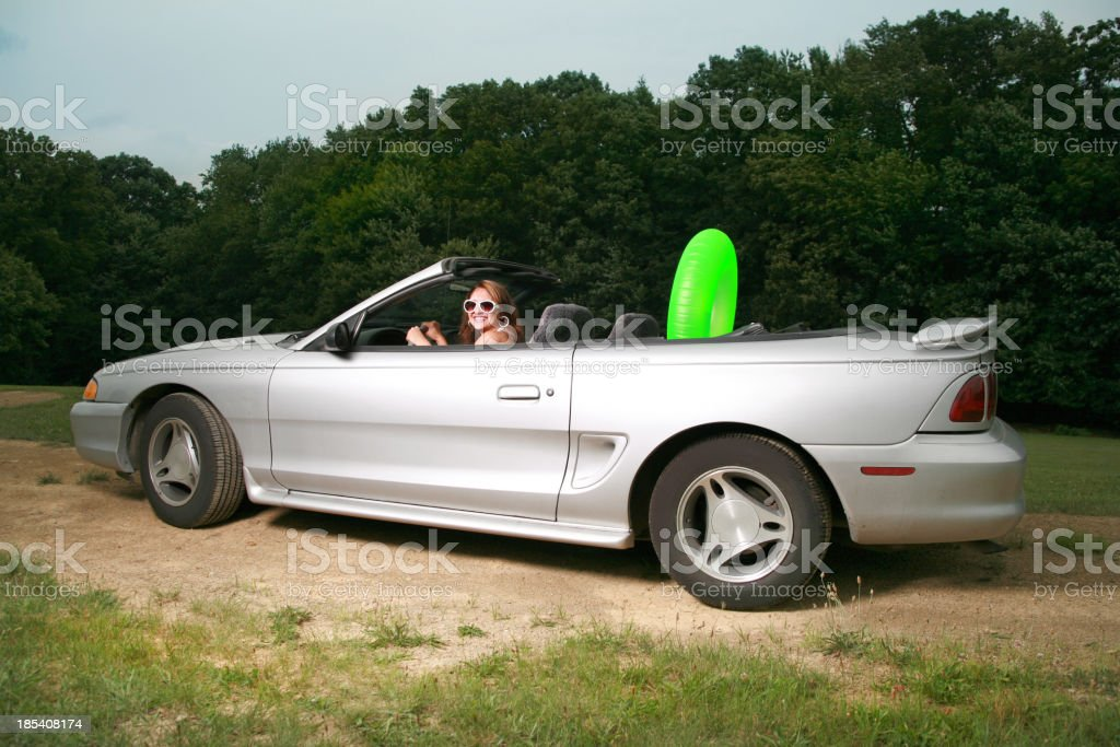 Going On Vacation royalty-free stock photo