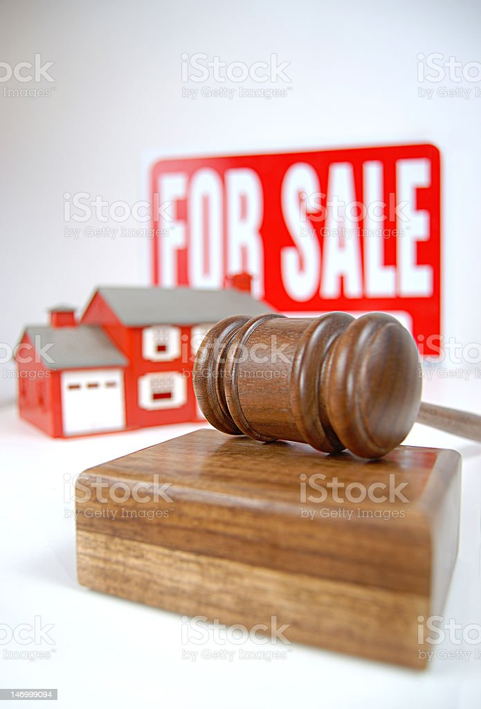 Going once, twice....sold! royalty-free stock photo