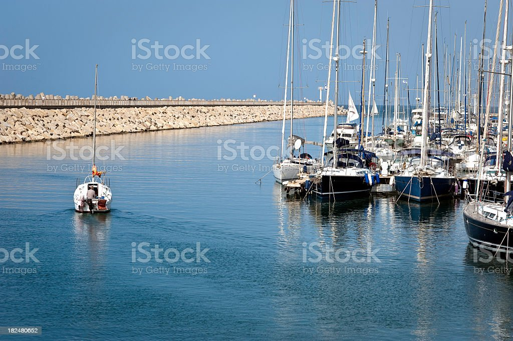 Going Out to Sea royalty-free stock photo
