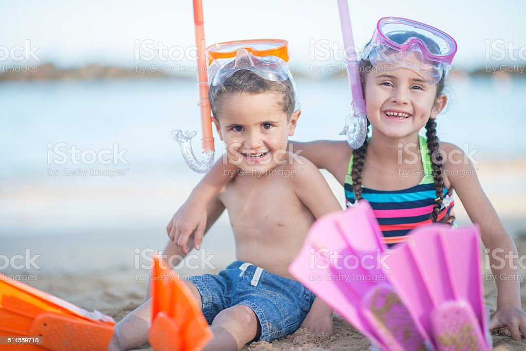 Going Snorkeling in Hawaii stock photo