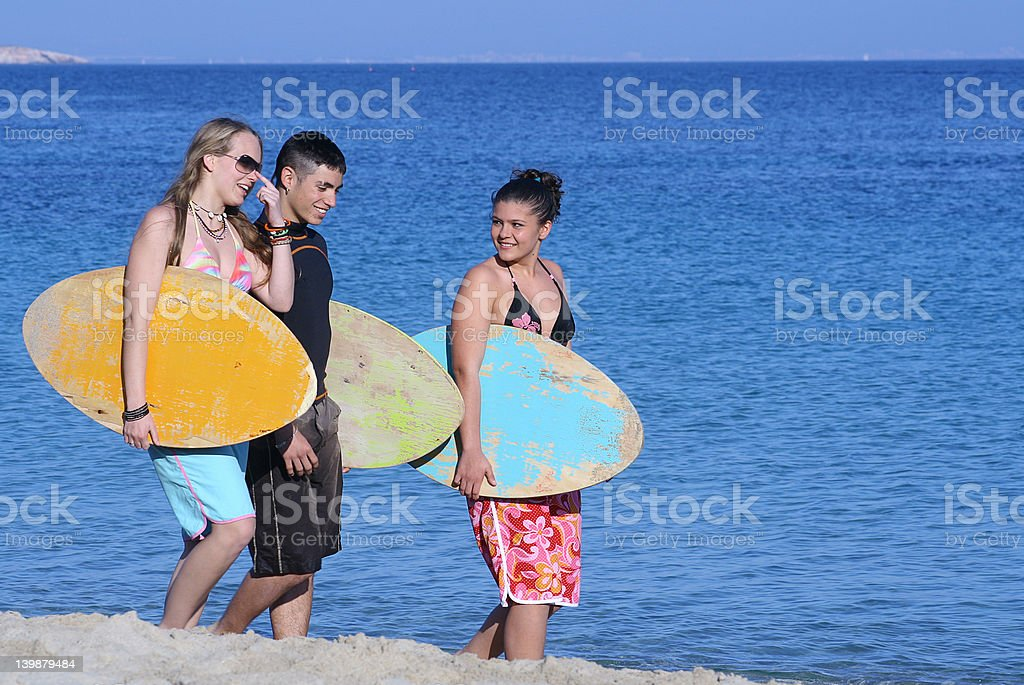 going surfing stock photo