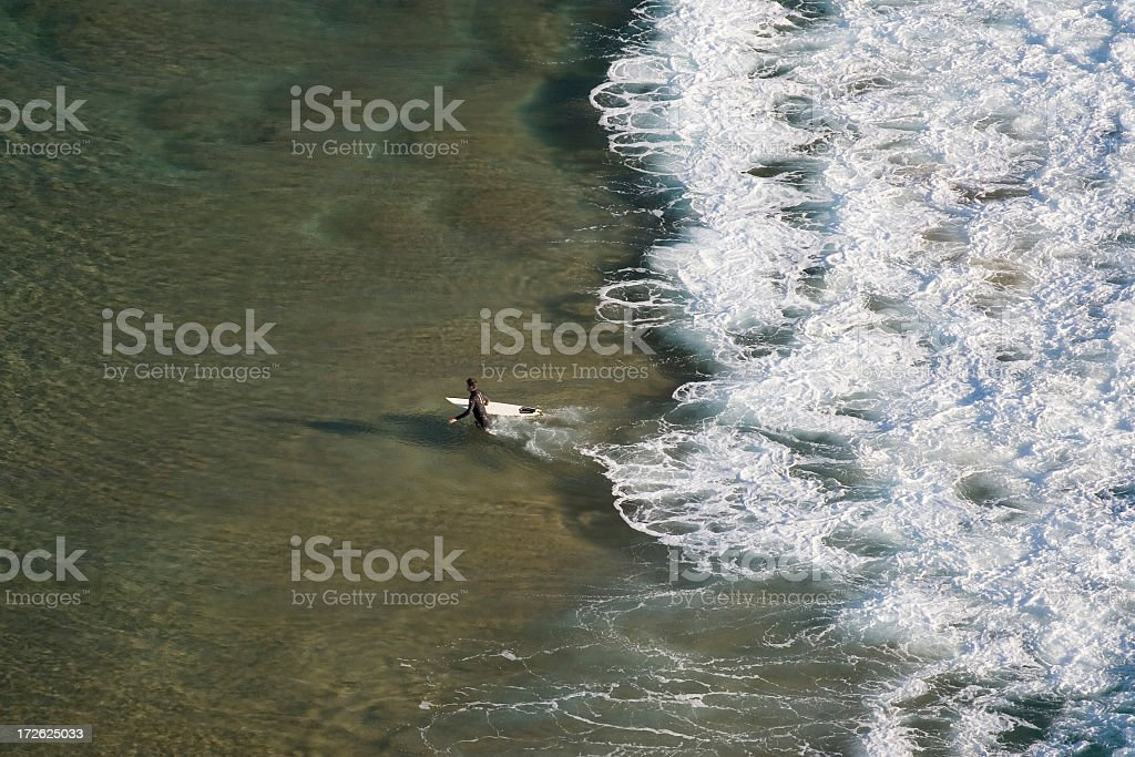 Going surfing royalty-free stock photo