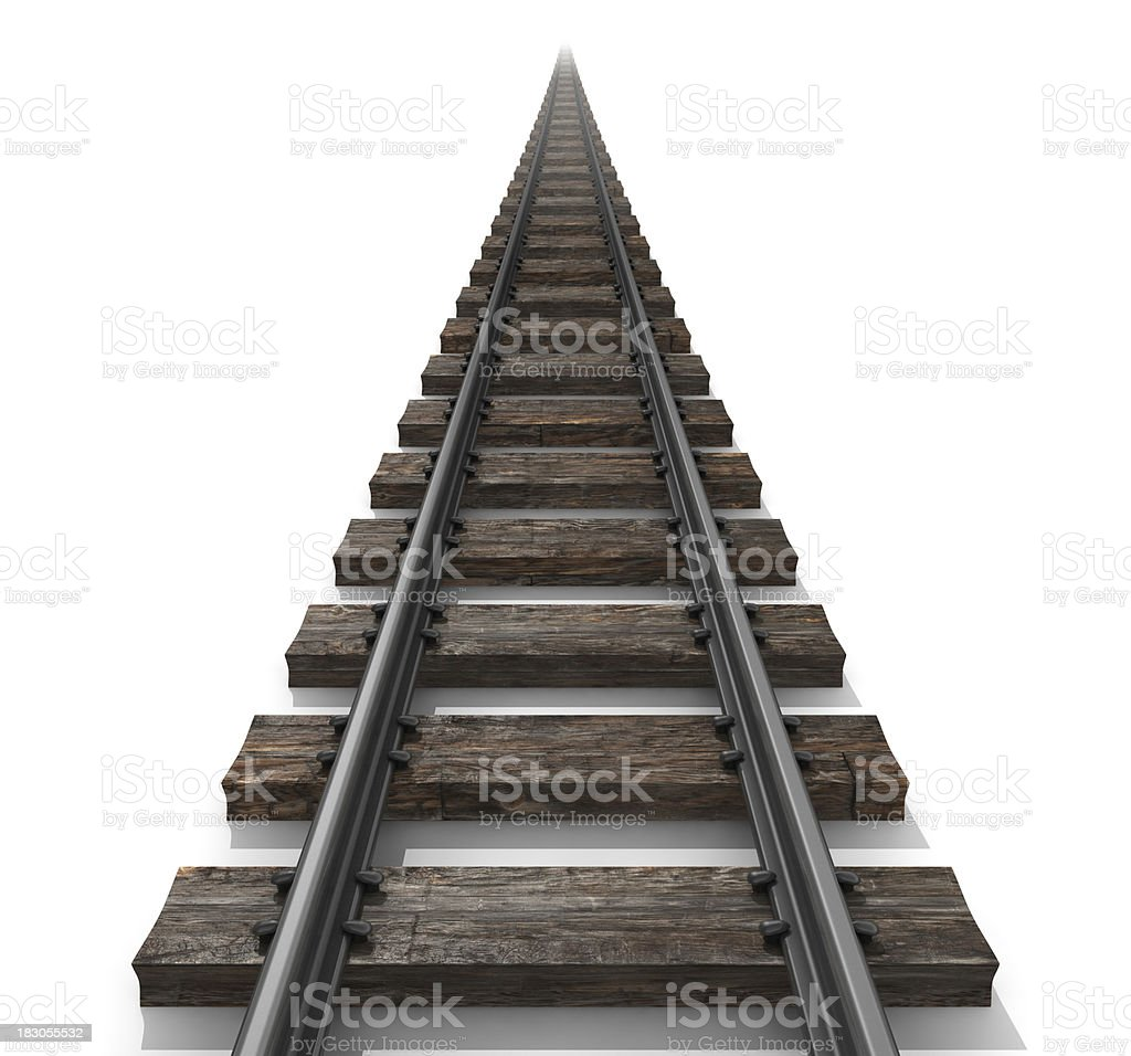 Going the distance royalty-free stock photo