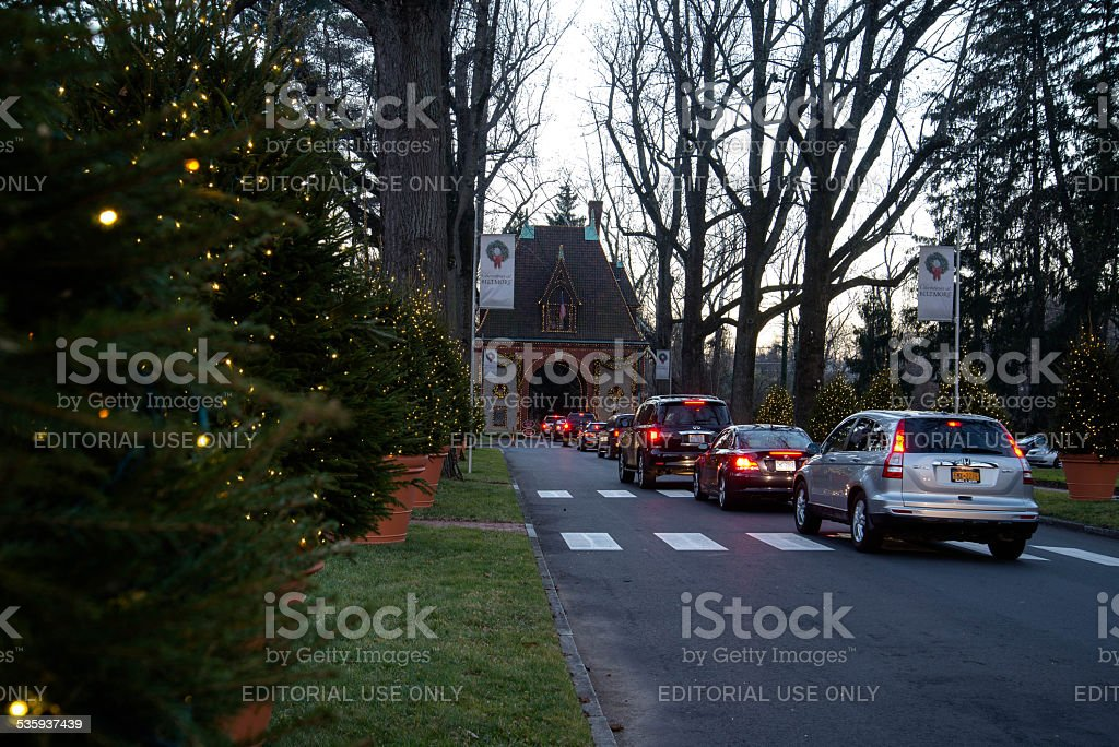 Going to Biltmore stock photo