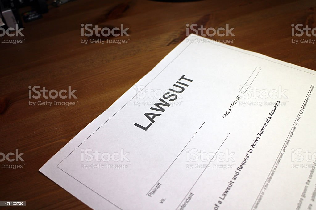Going to Court stock photo
