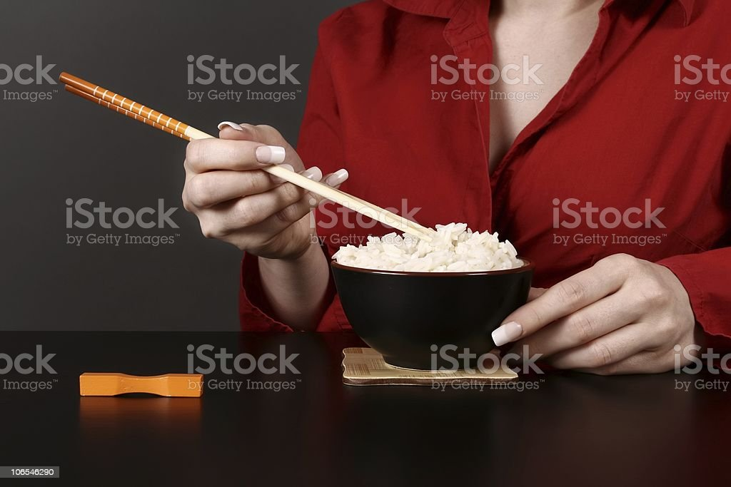Going to eat royalty-free stock photo