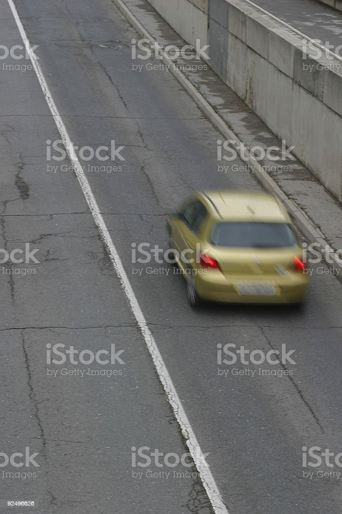 Going to fast royalty-free stock photo