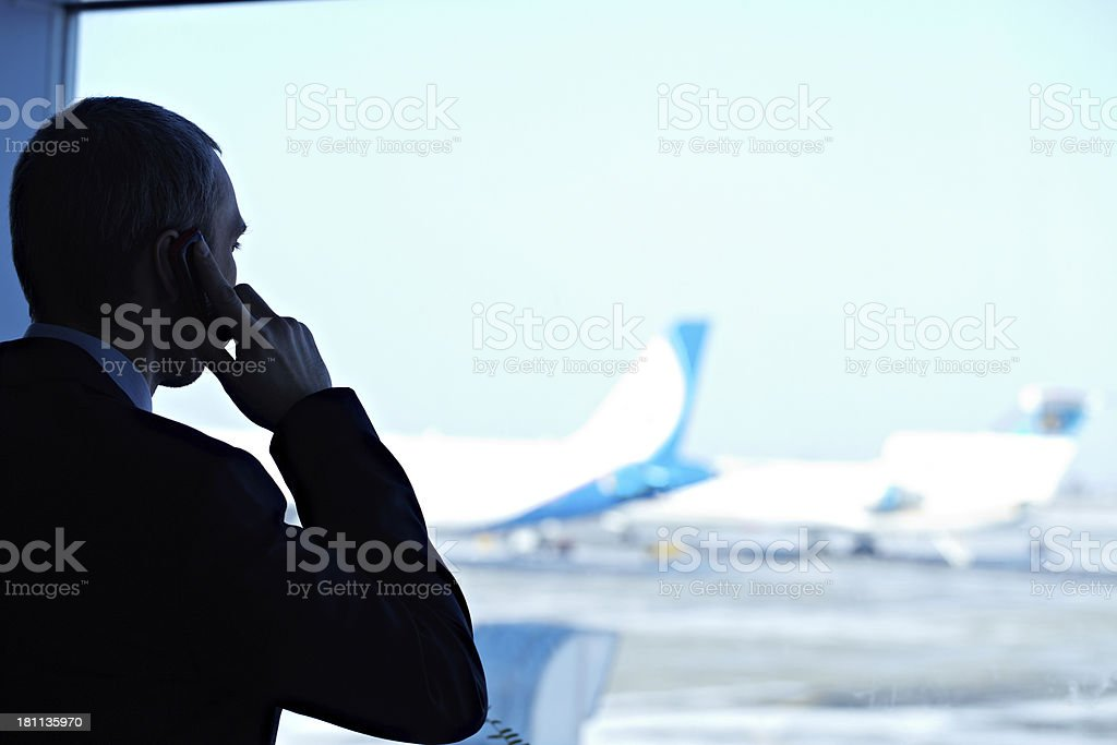 Going to leave royalty-free stock photo