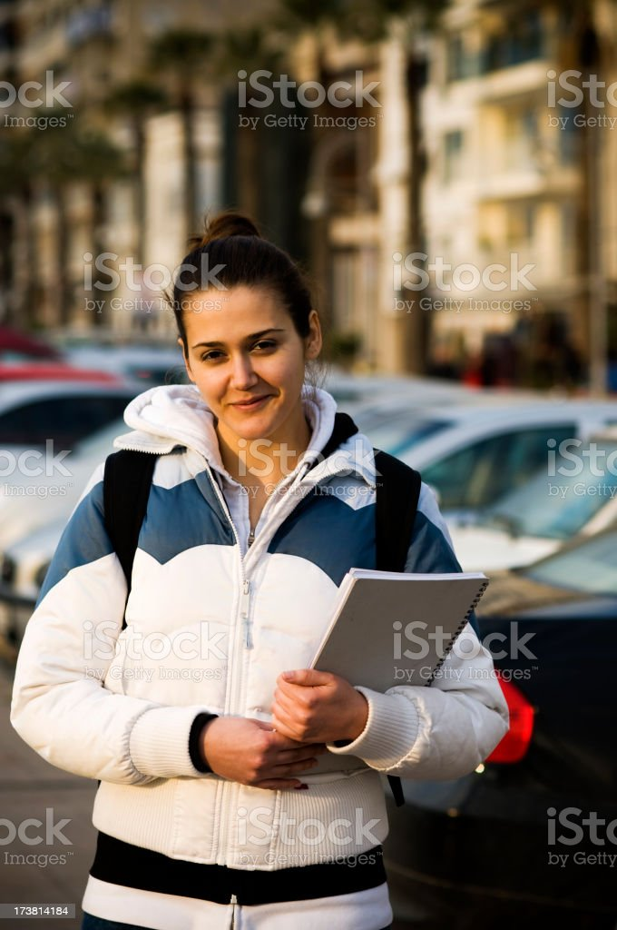 Going to school... royalty-free stock photo