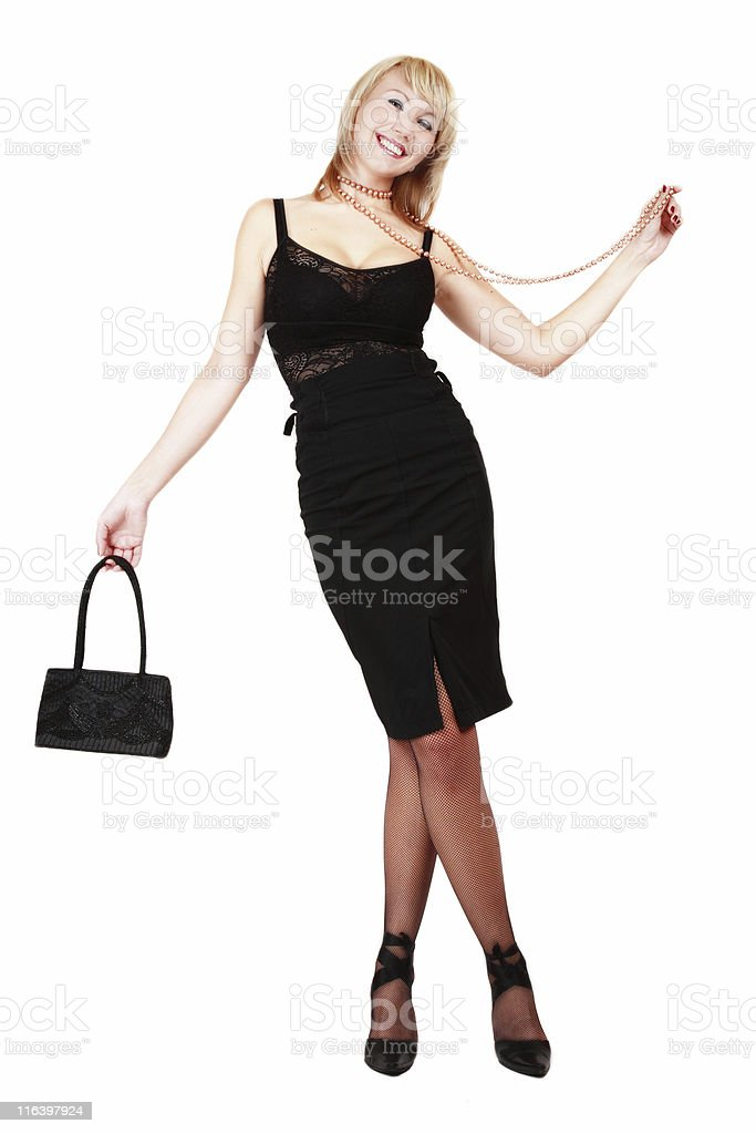 Going to the party royalty-free stock photo