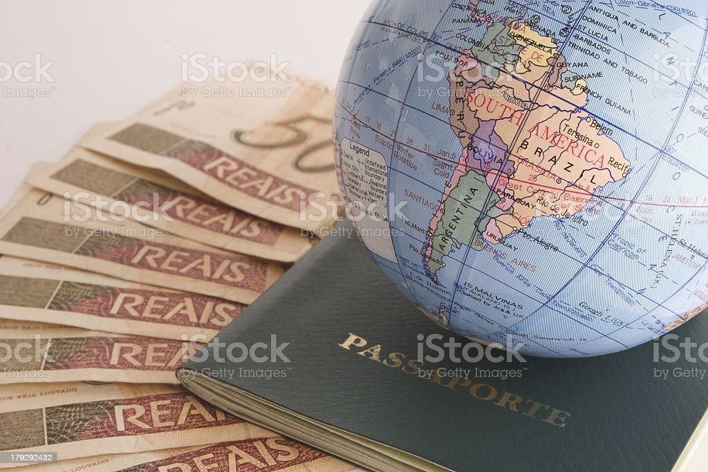 Going to travel royalty-free stock photo