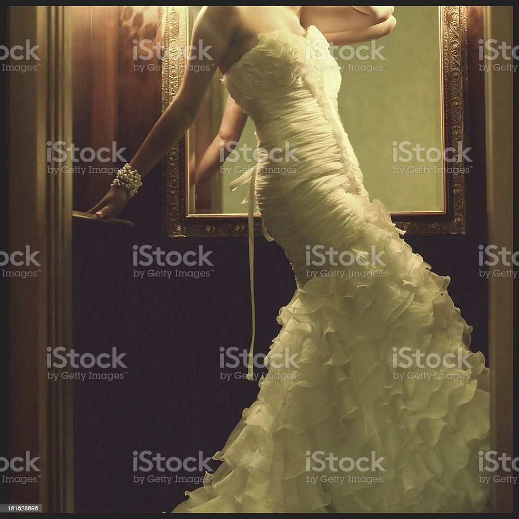 Going up? royalty-free stock photo