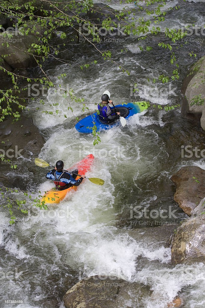 Going with the flow (XXL) royalty-free stock photo