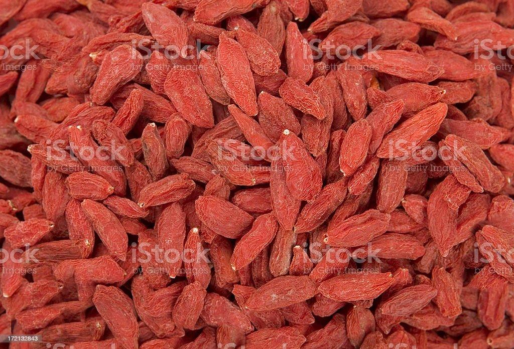 Goji Berries # 1 royalty-free stock photo