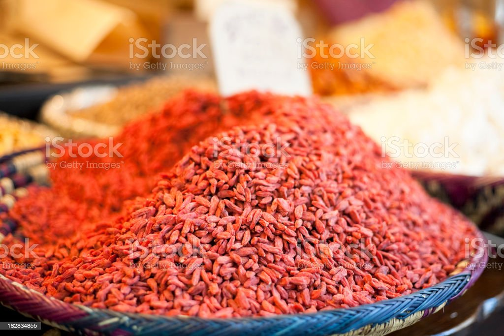 Goji Berries royalty-free stock photo
