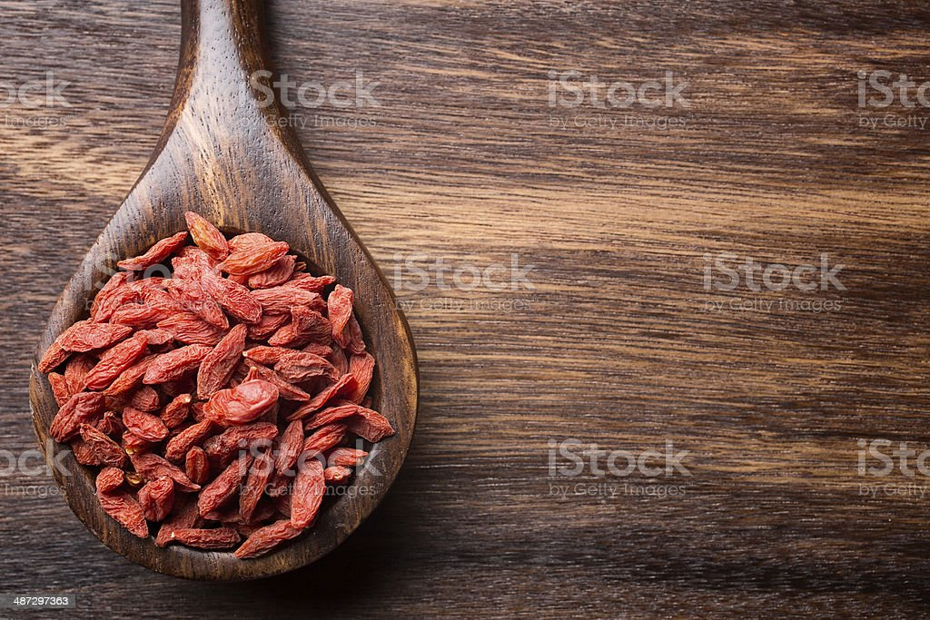 Goji berry. stock photo