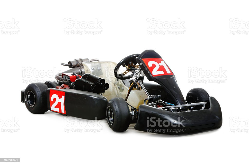 Go-kart stock photo