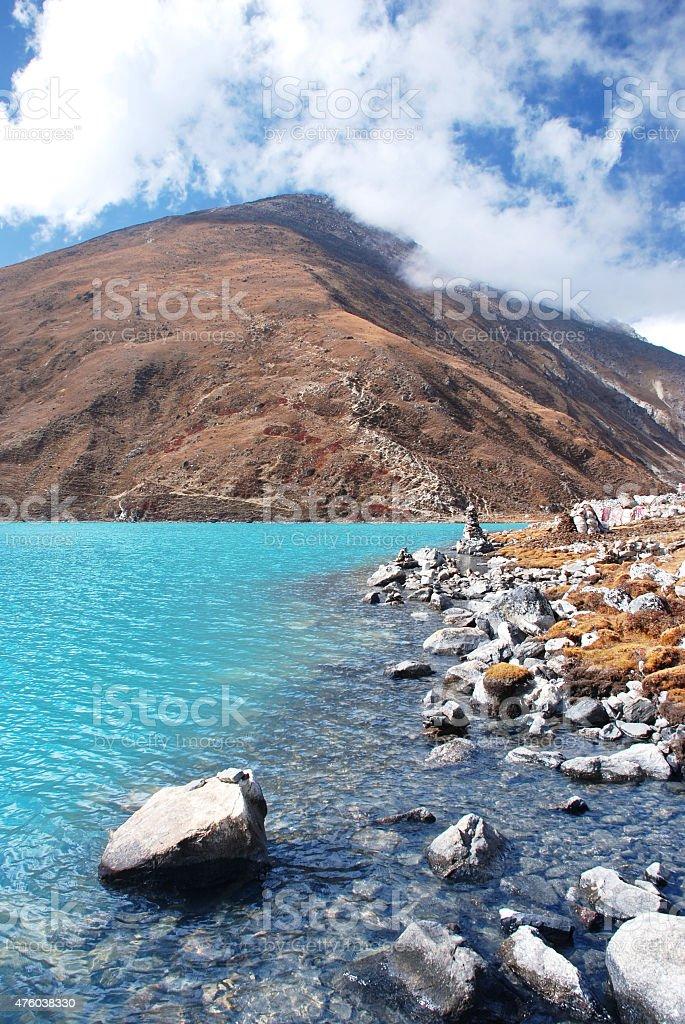Gokyo Ri, Himalayas, Nepal stock photo