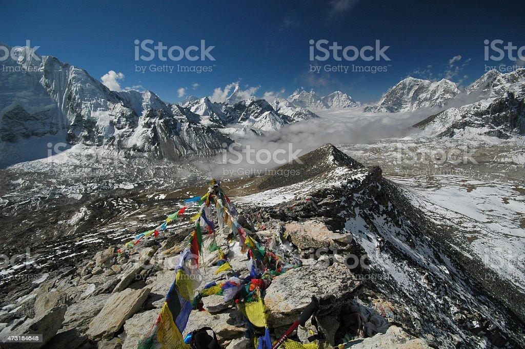 Gokyo Ri. Nepal Himalayas. stock photo
