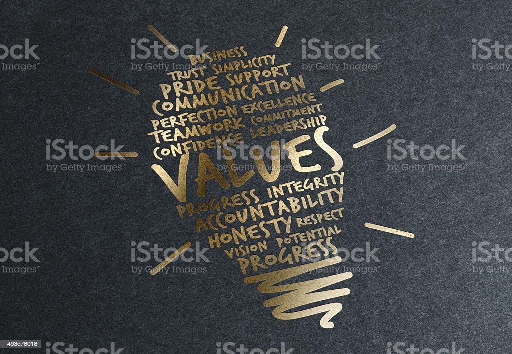 Gold Advice: Values Rises stock photo