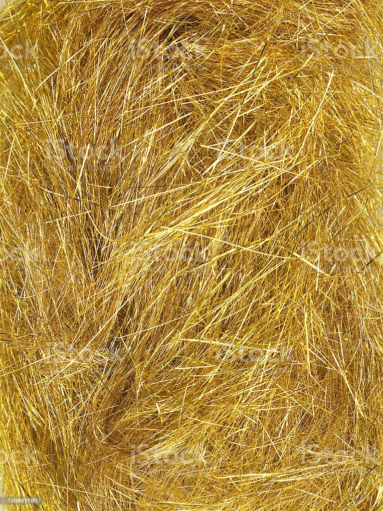 Gold Agleam Texture stock photo