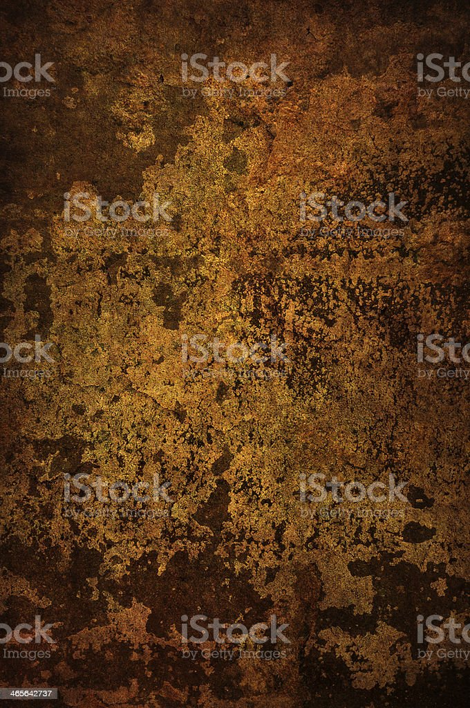 Gold and brown grunge background royalty-free stock photo